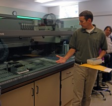 Lab Director Shawn Narum