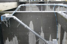 Bonneville Dam lamprey bypass system