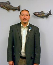 Newly selected CRITFC Chairman Joel Moffett (Nez Perce).