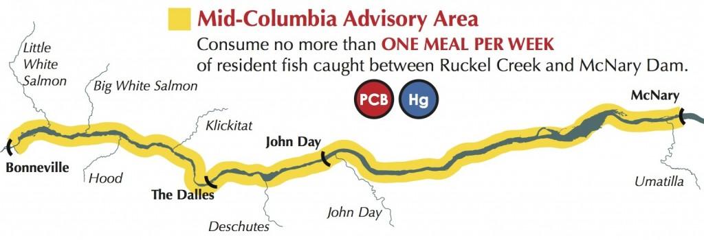 Mid-Columbia Fish Advisory Area
